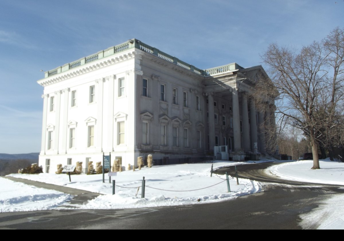 Staatsburg The Mills Mansion Dutchess County Ny