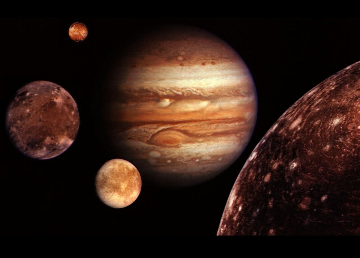 planet with four moons - photo #6