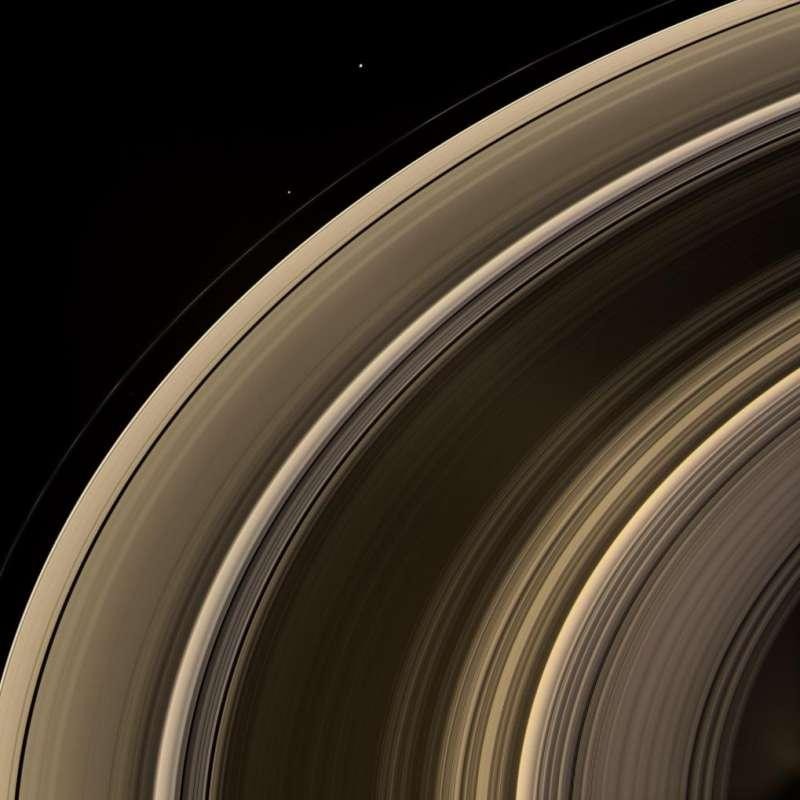 What Color Is Saturn S D Ring
